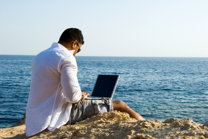 Executives Need to be Connected even on vacation