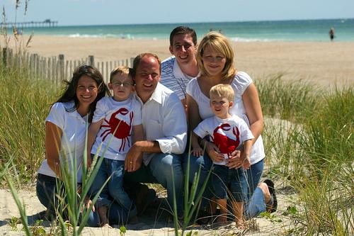 Crystal Coast Family Vacation