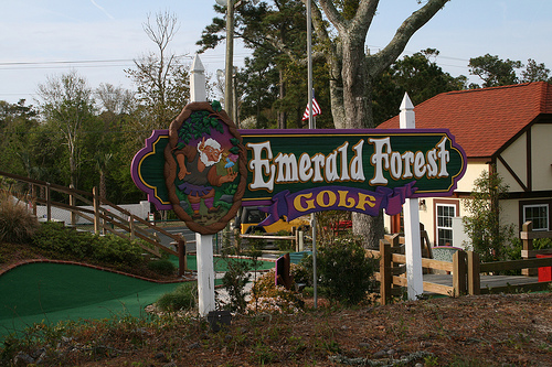 Emerald Forest Golf in Emerald Isle